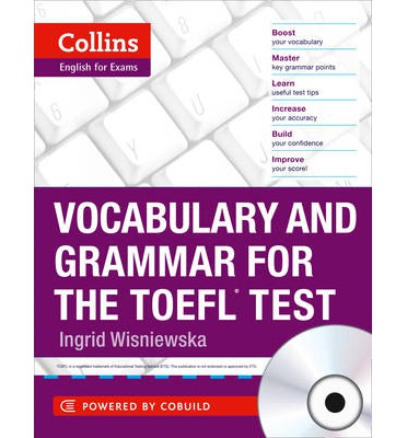 vocabulary and grammar for the toefl test (collins english for the toefl test )-9780007499663