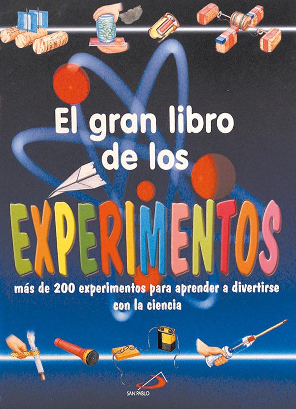 el gran libro de los experimentos-antonella meiani-9788428522663
