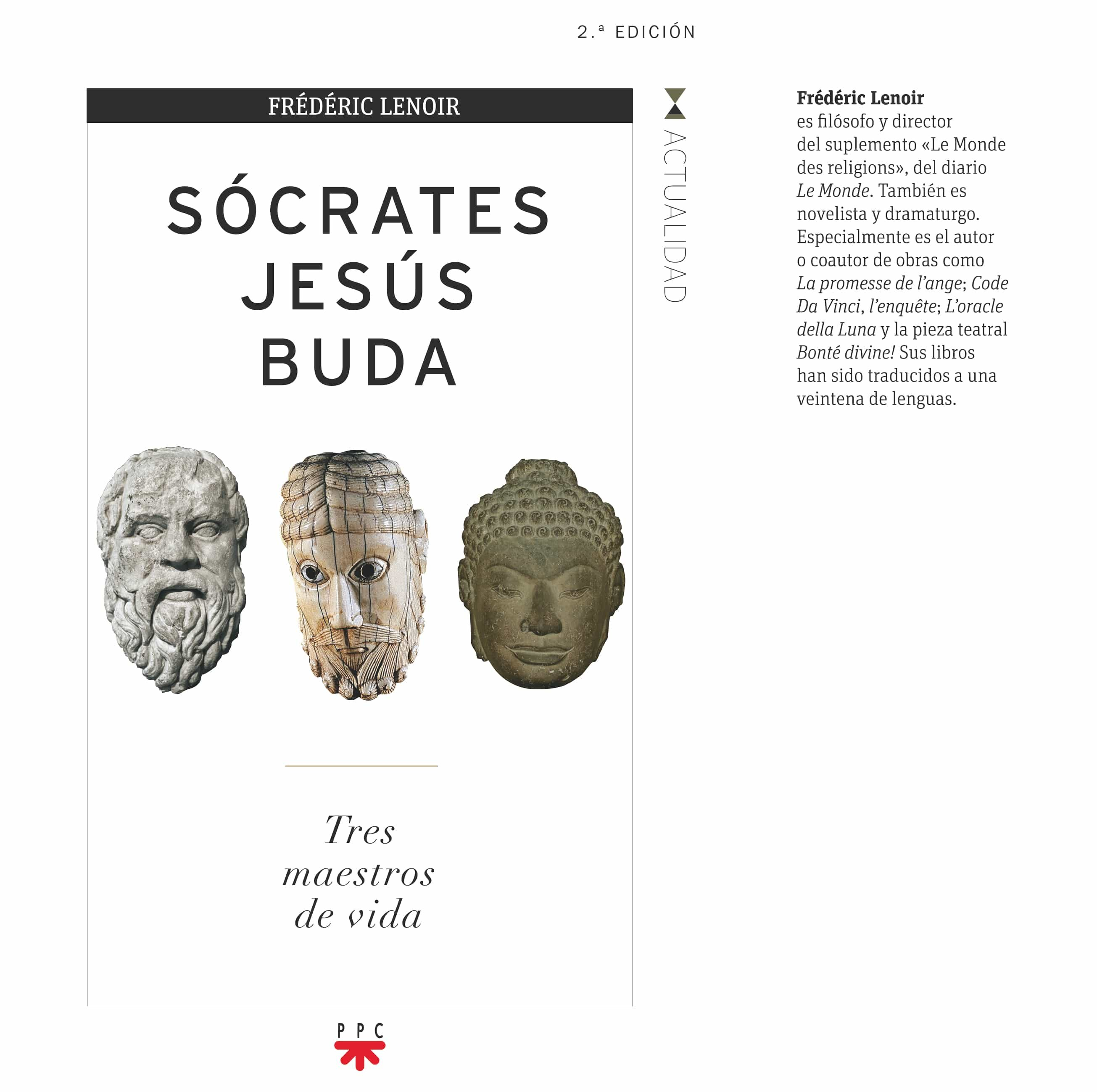 socrates, jesus, buda-frederic lenoir-9788428825863