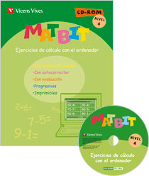 Matbit Nivel 4 + Cd-rom por Vv.aa. epub