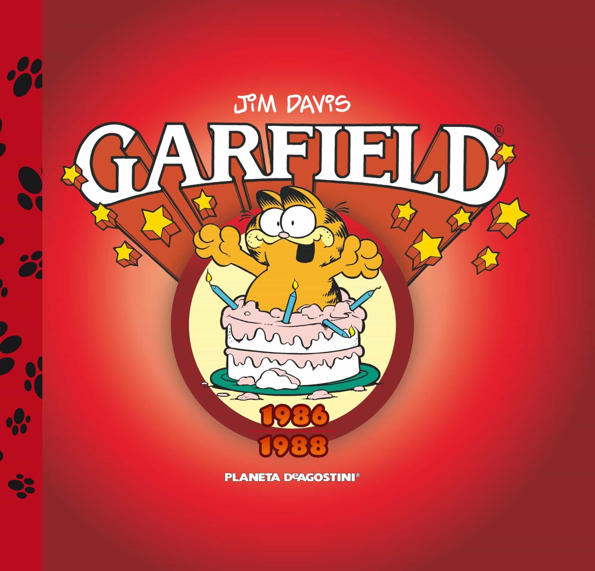 Garfield Nº 5 por Jim Davis