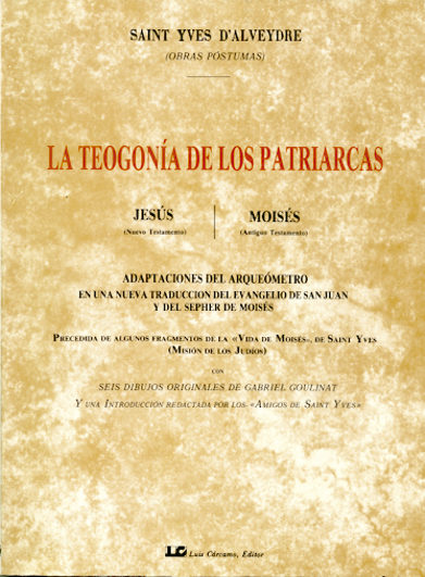 la teogonia de los patriarcas-joseph alexa saint-yves d alveydre-9788476270363