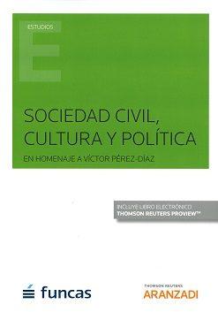 sociedad civil, cultura y política en homenaje a víctor perez- di az-9788491777663