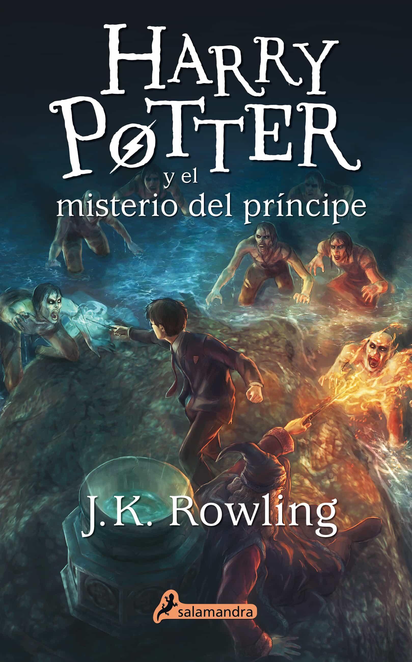 Resultado de imagen de harry potter y el misterio del príncipe libro