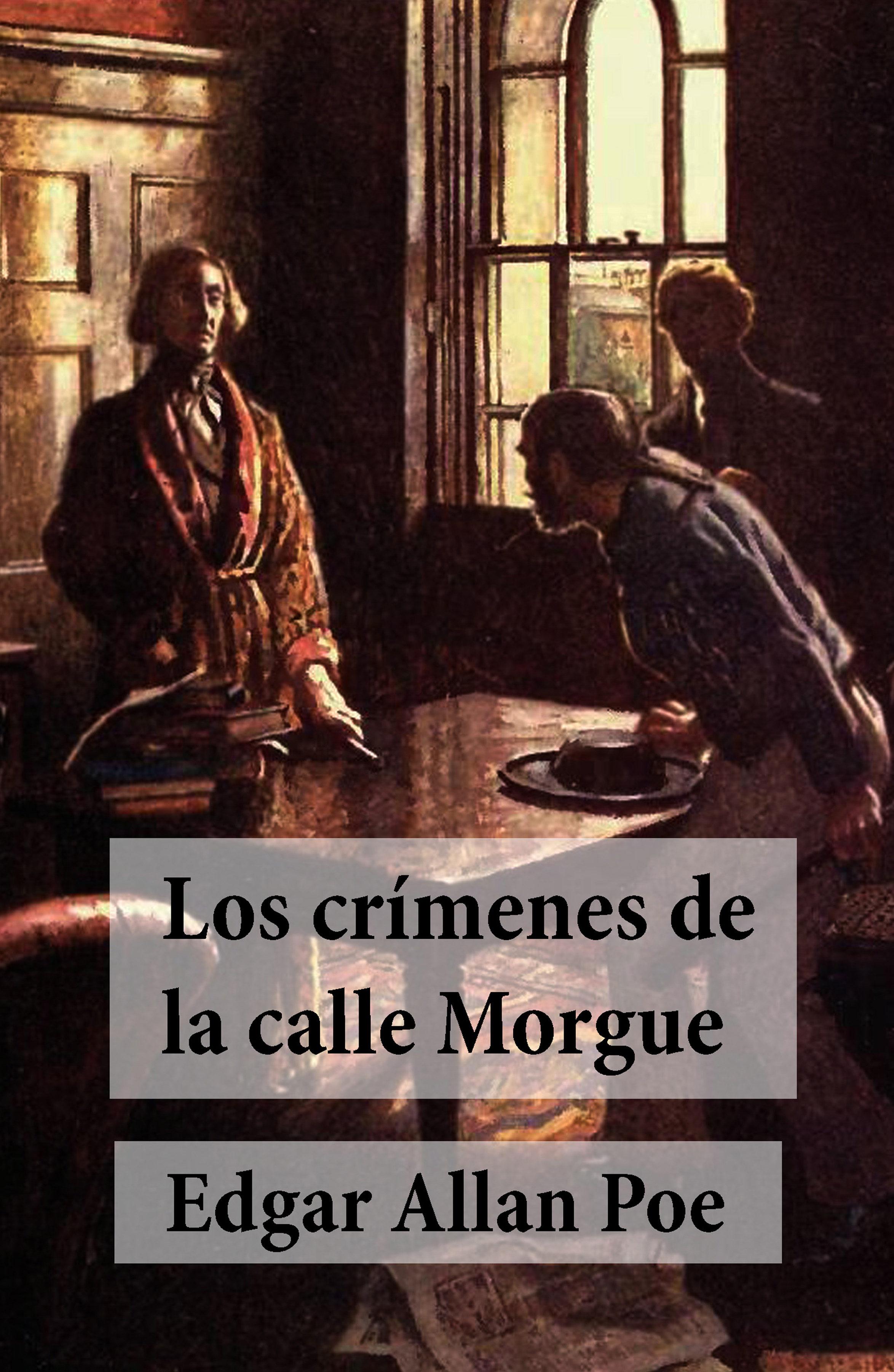 Resultado de imagen para crimenes de la calle morgue