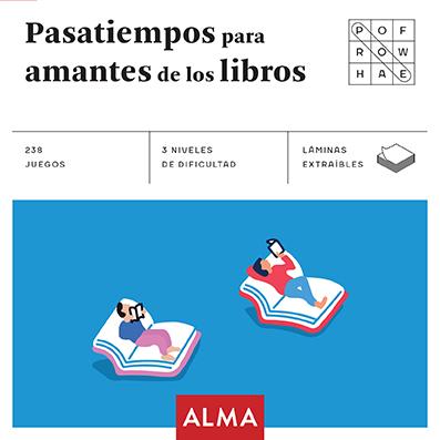 pasatiempos para amantes de los libros (cuadrados de diversion)-9788415618973