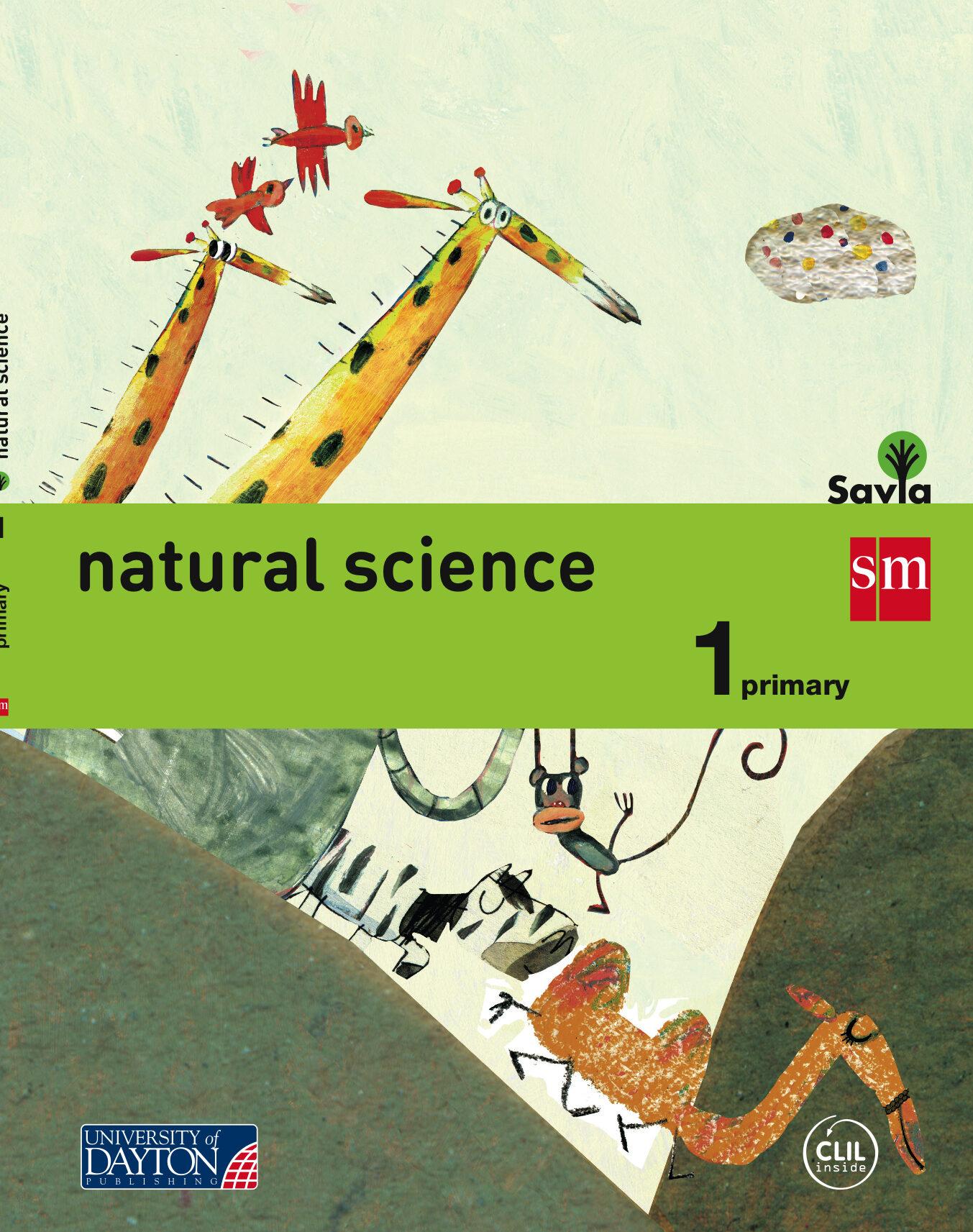 natural science 1º primaria savia 2015-9788416346073