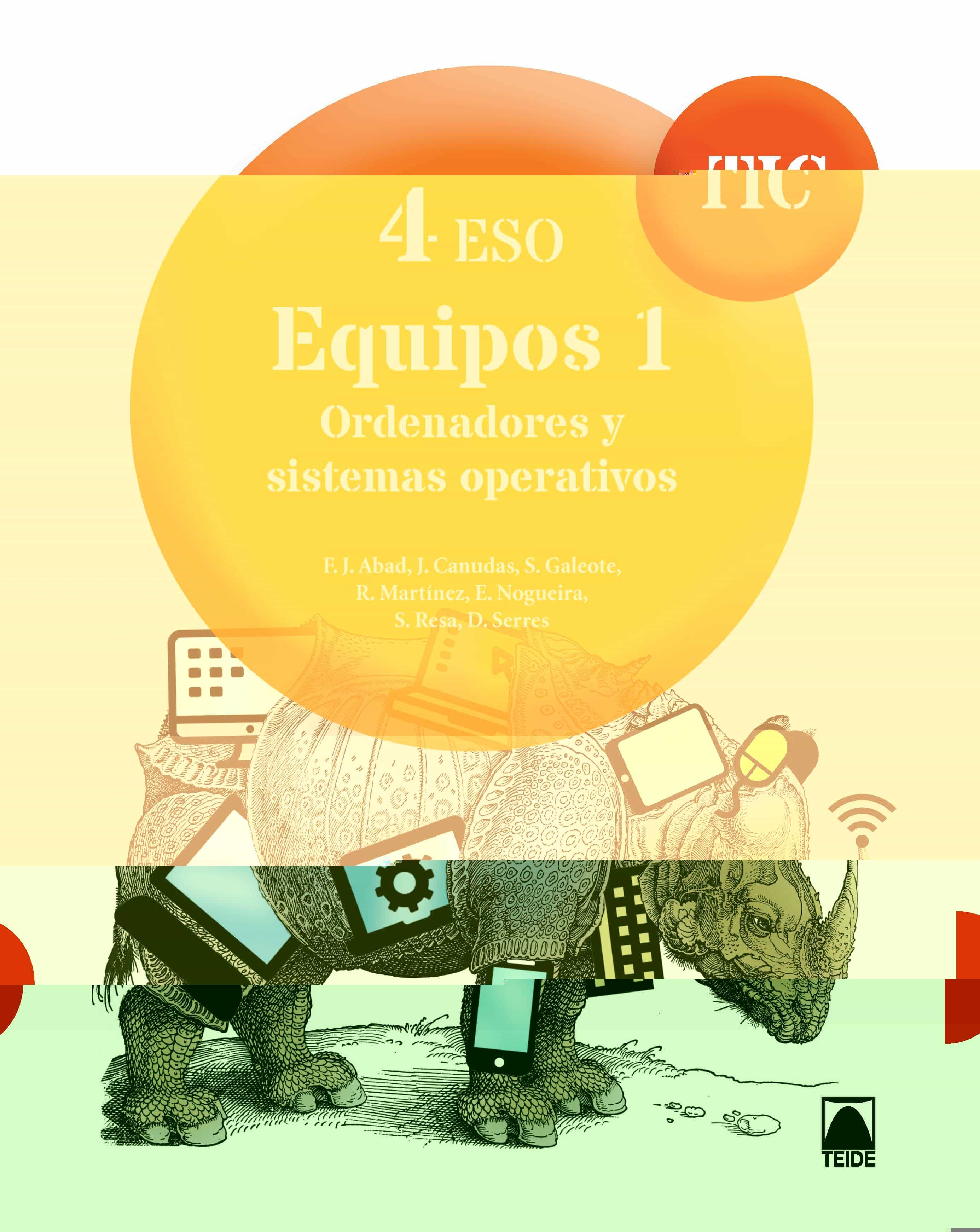 Epub Descargar Tic 4º Eso Equipos 1 Ordenadores Y Sistemas Operativos