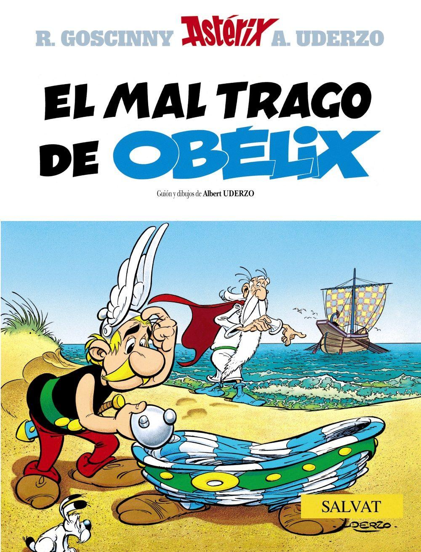 Astérix. El Mal Trago de Obélix,Goscinny; Uderzo,Salvat  tienda de comics en México distrito federal, venta de comics en México df