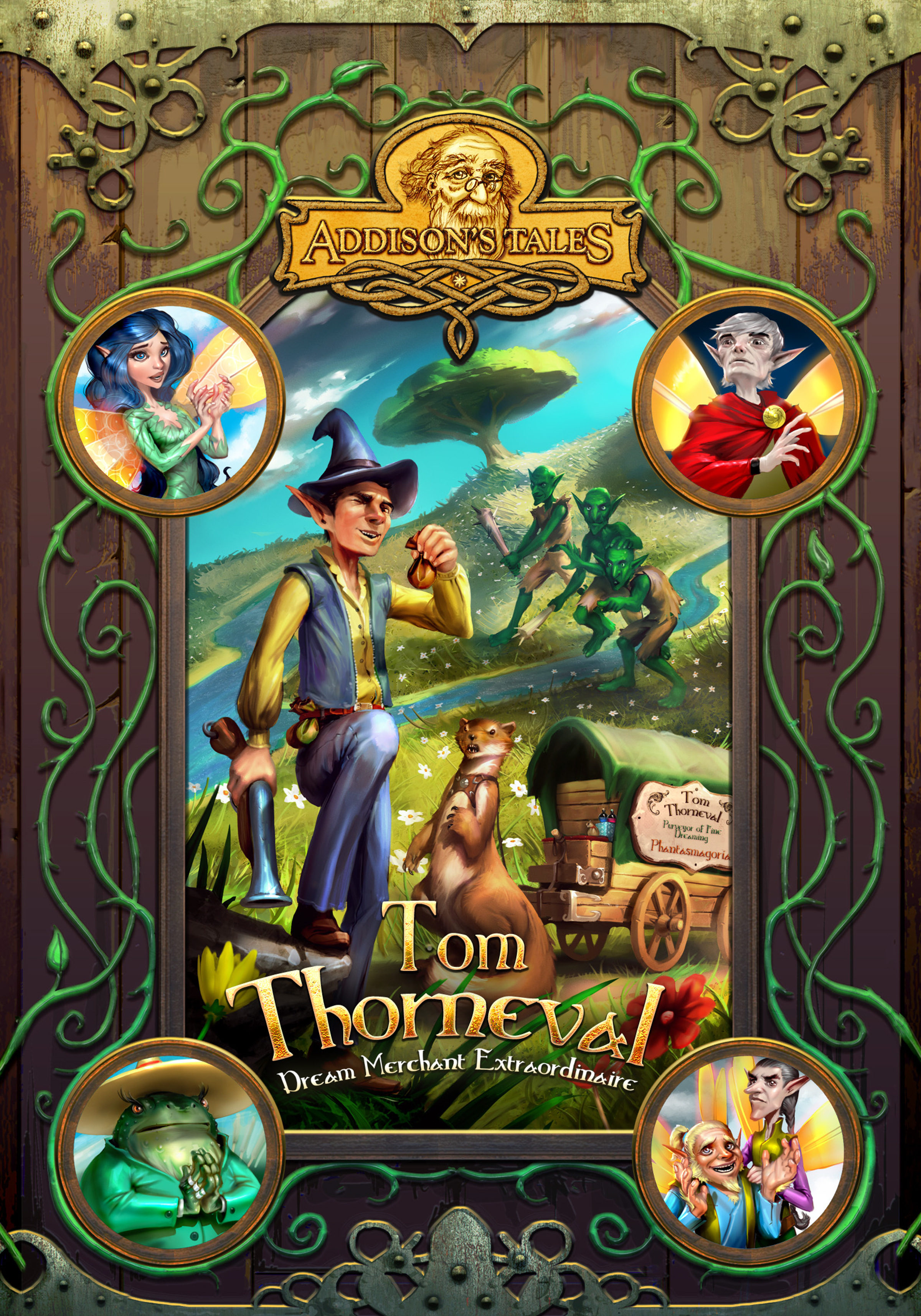 Tom Thorneval: Dream Merchant Extraordinaire (Addison