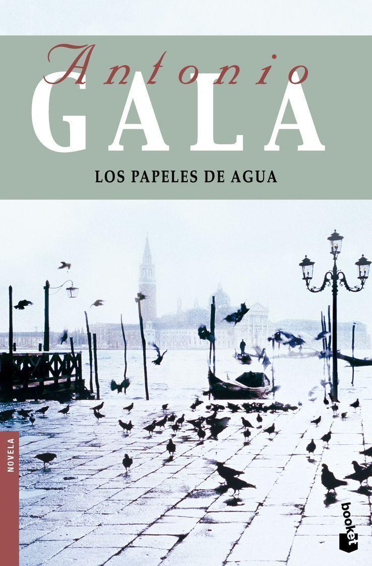 los papeles de agua-antonio gala-9788408091783
