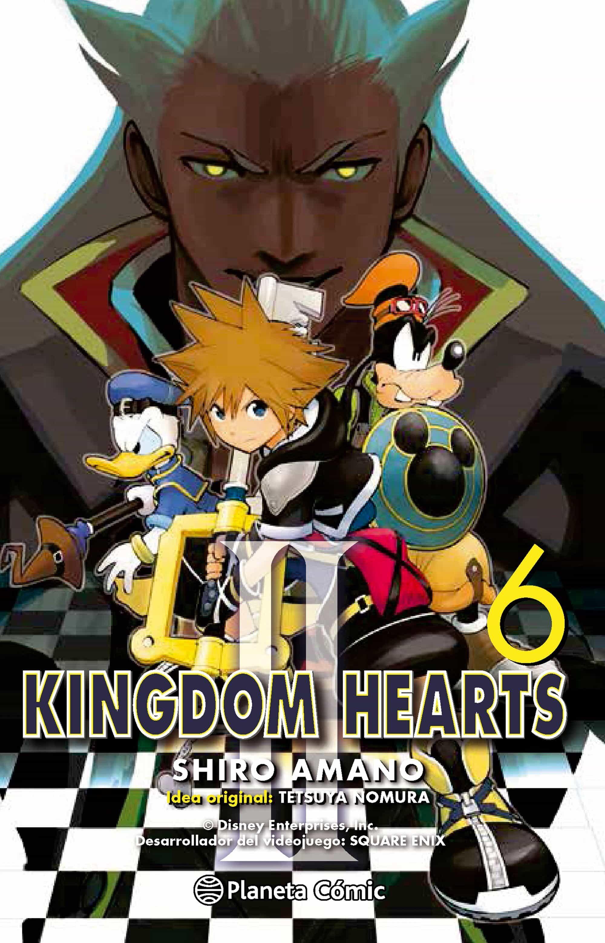 kingdom hearts ii nº 06-shiro amano-9788416244683