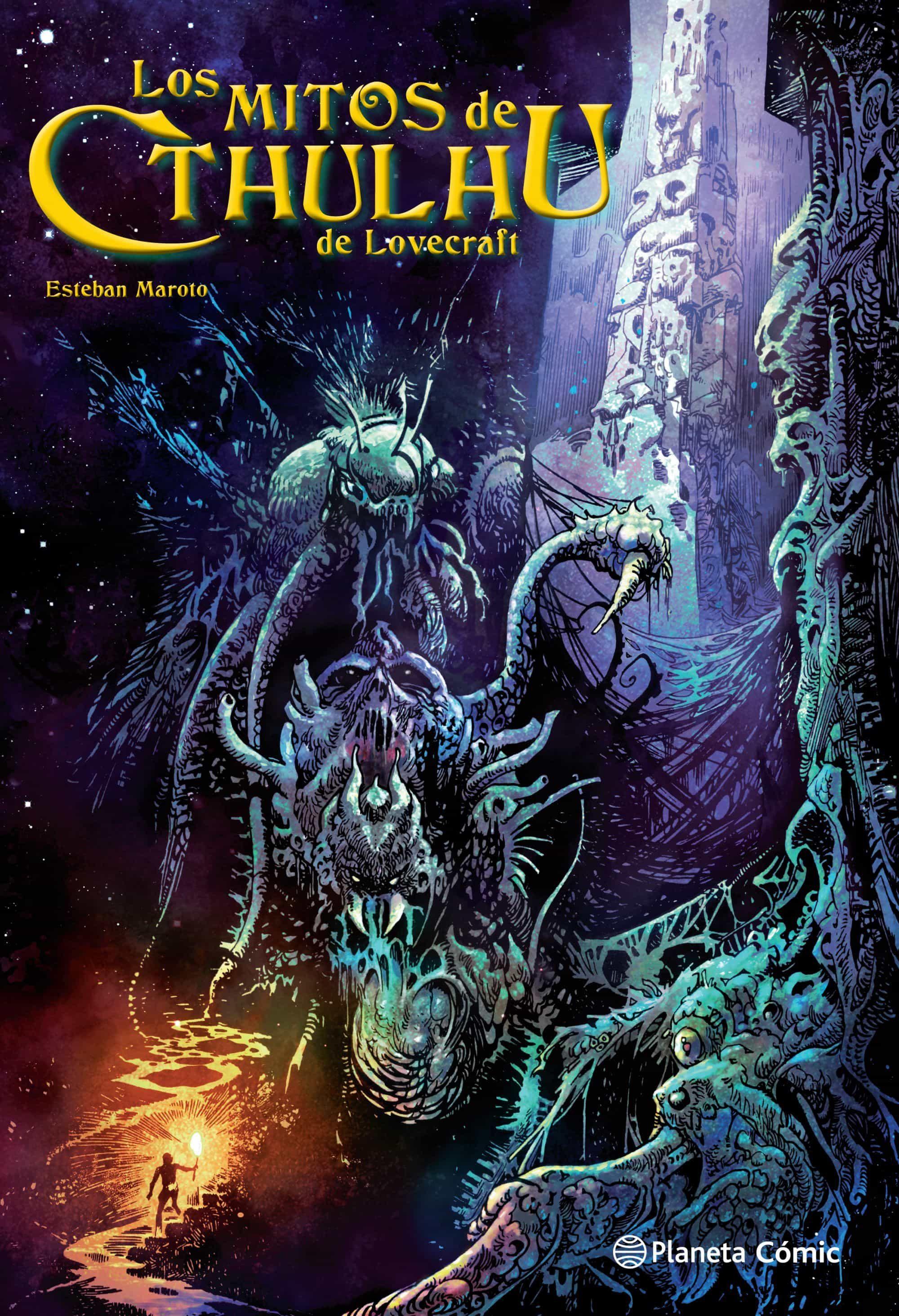 Los Mitos De Cthulhu De Lovecraft por Esteban Maroto;                                                                                                                                                                                                                                   H.p.