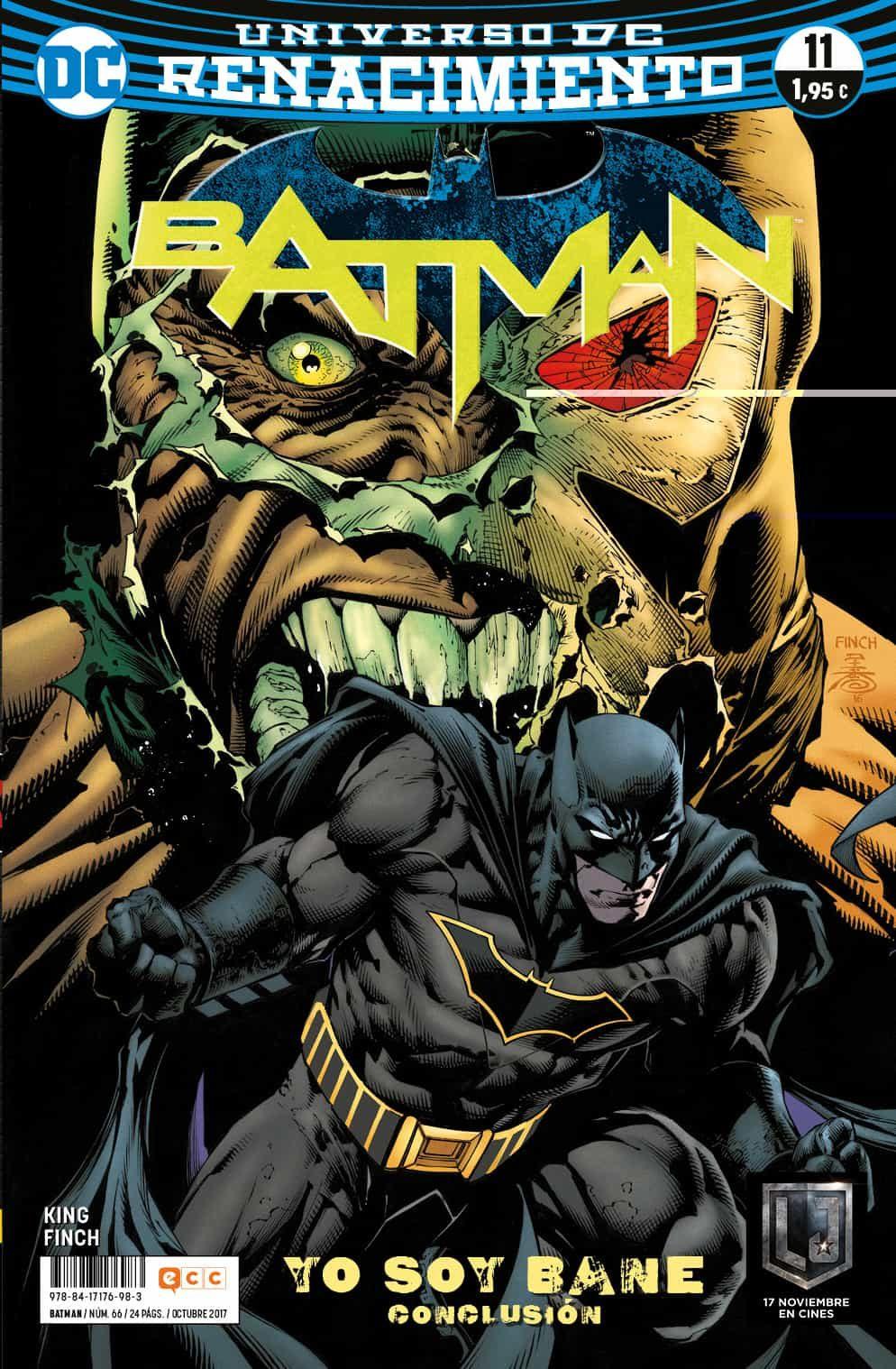 BATMAN Nº 66/11 (RENACIMIENTO)
