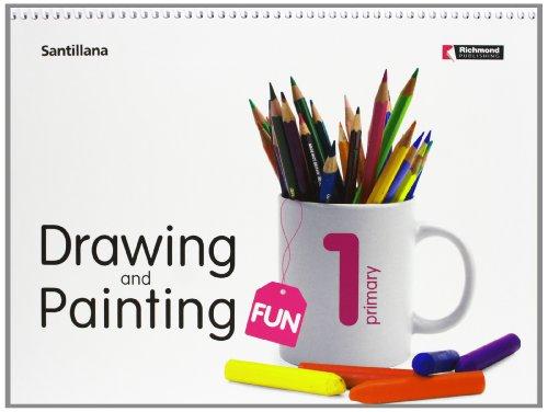 1 primaria  drawing & painting fun student book +cd edicion 2008-9788429447583