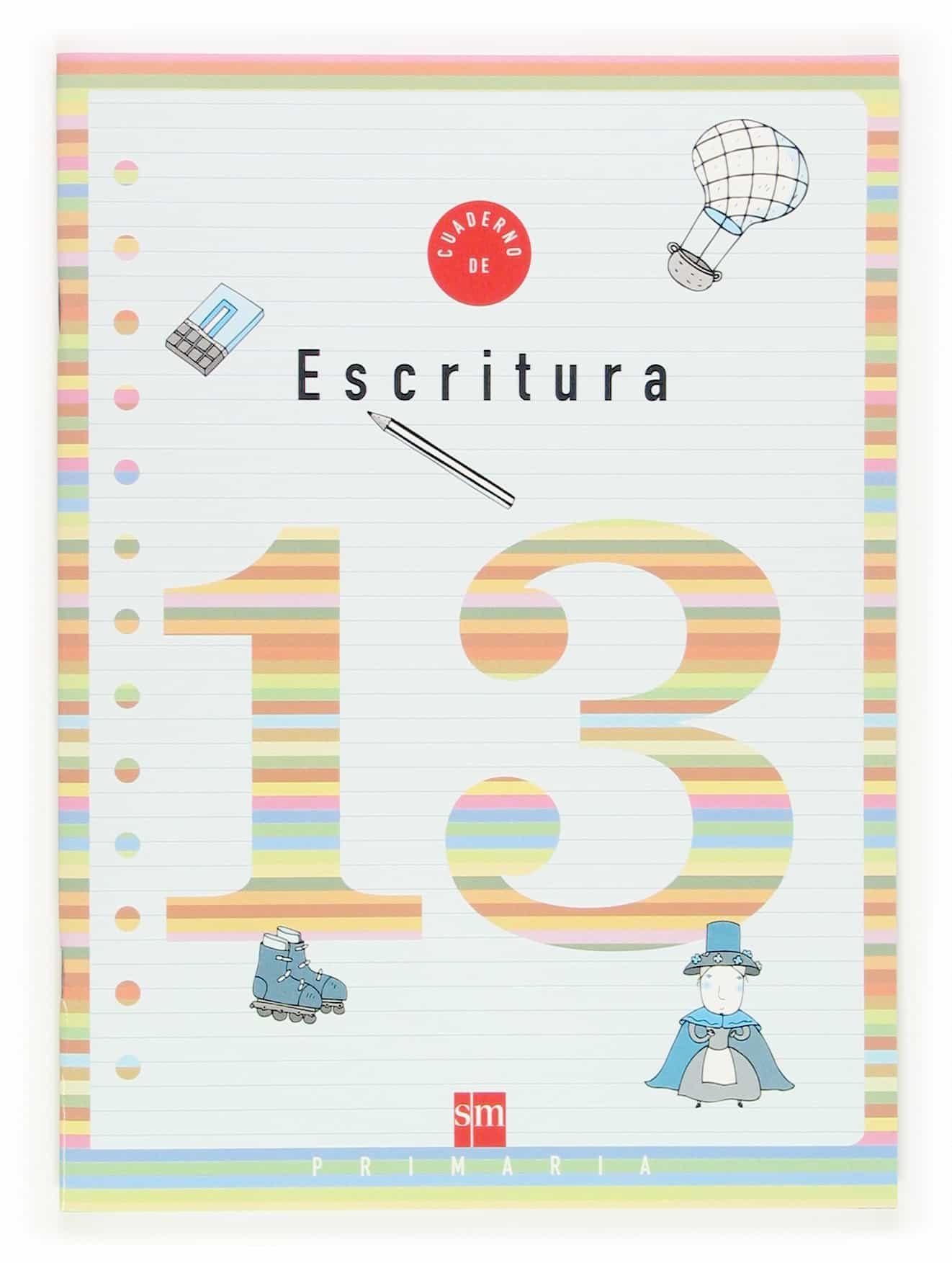 Cuaderno De Escritura 13 (5º Educacion Primaria) por Vv.aa. epub