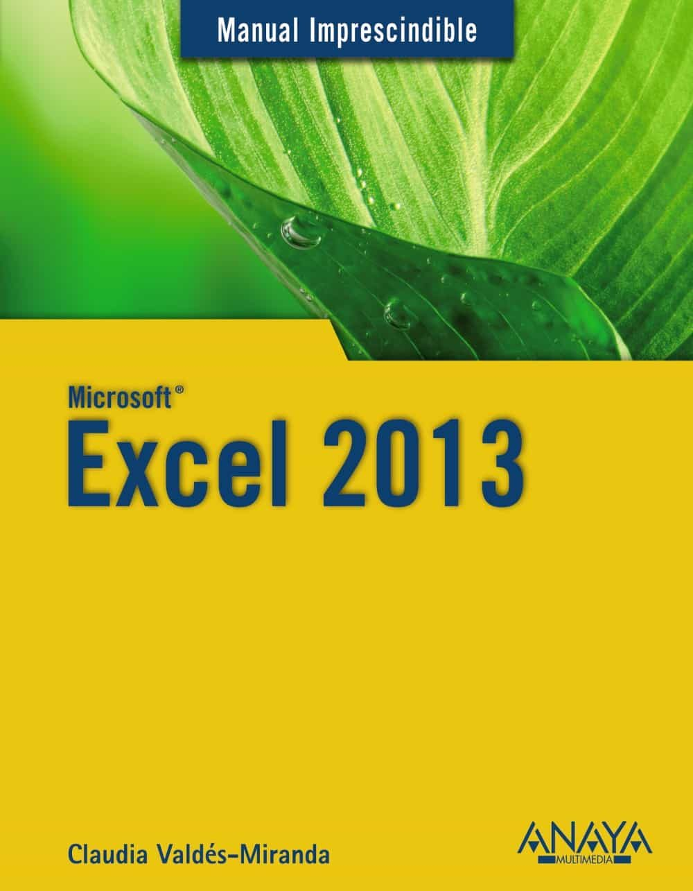 microsoft excel 2013 manual