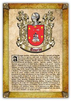 Apellido Amorós (lleida) / Origen, Historia Y Heráldica De Los Linajes Y Apellidos Españoles E Hispanoamericanos PDF Descargar Gratis