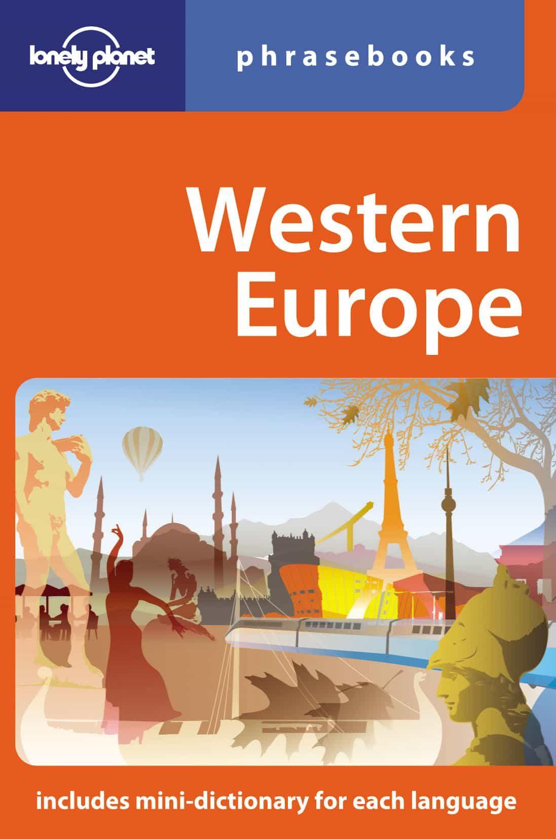 Western Europe Phrasebook (lonely Planet) (4th Ed.) por Vv.aa. epub