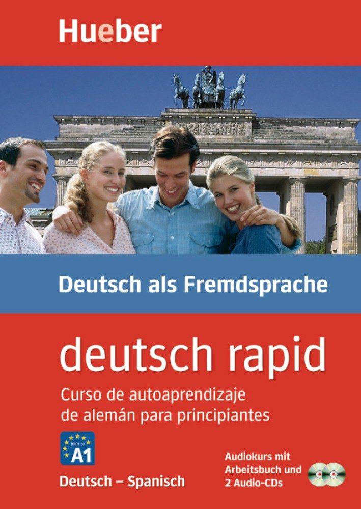 Deutsch Rapid: Curso Autodidacta De Aleman Con Explicacdiones En Castellano (libro + 2 Cd-audio) por Vv.aa.