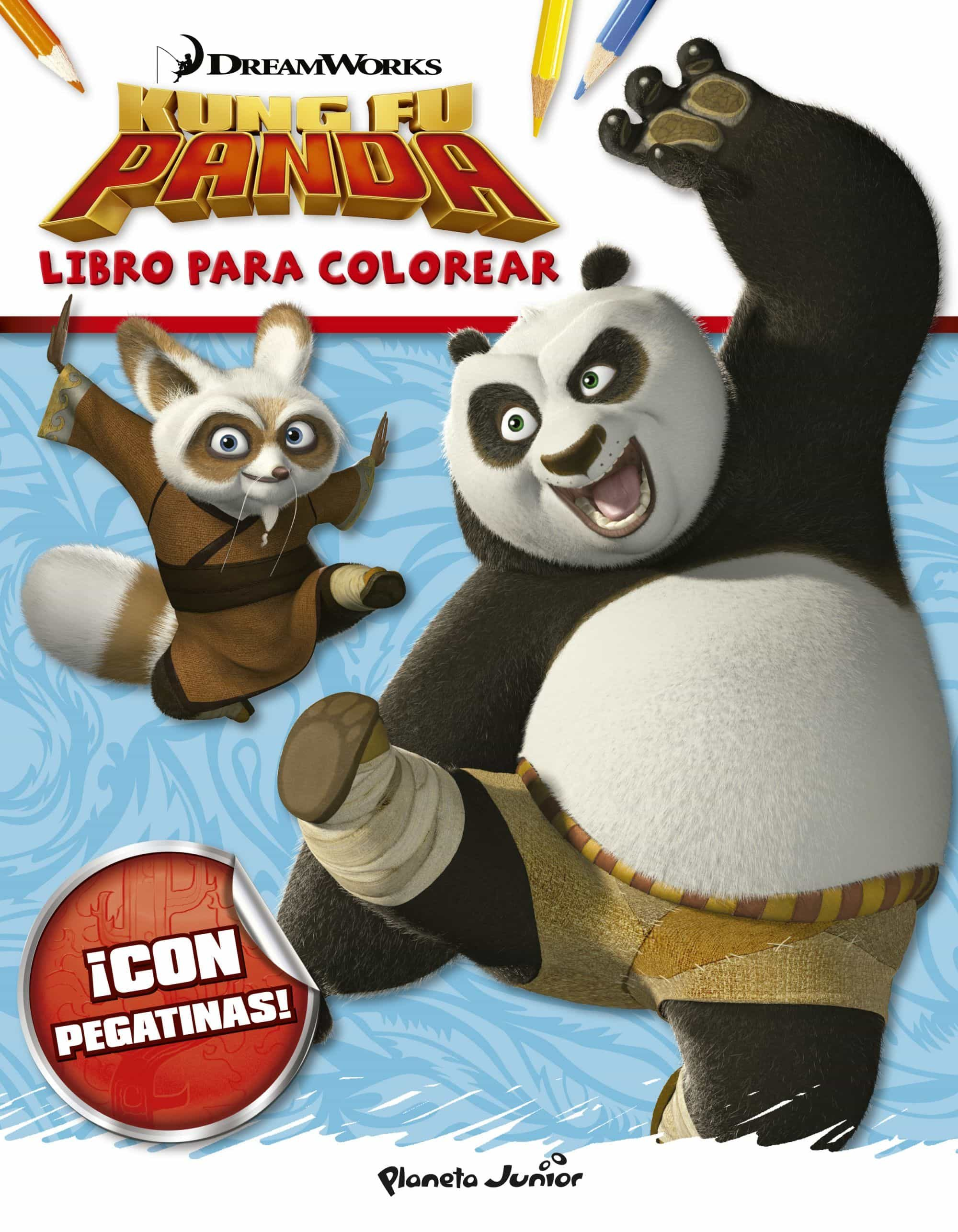KUNG FU PANDA. LIBRO PARA COLOREAR | DREAMWORKS | Comprar libro ...
