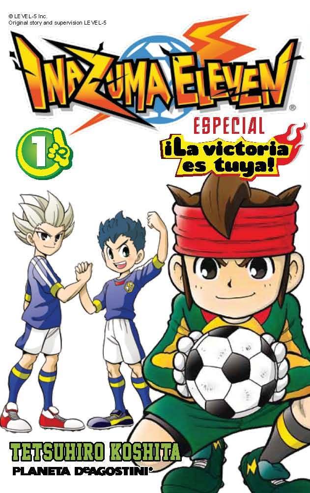 Inazuma Eleven Nº 1 ¡la Victoria Es Tuya! por Tetsuhiro Koshita