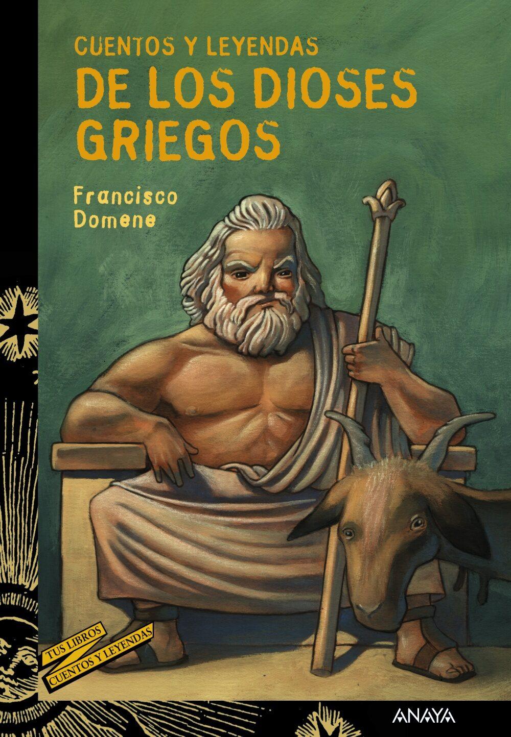 cuentos y leyendas de los dioses griegos-francisco domene-9788466793193