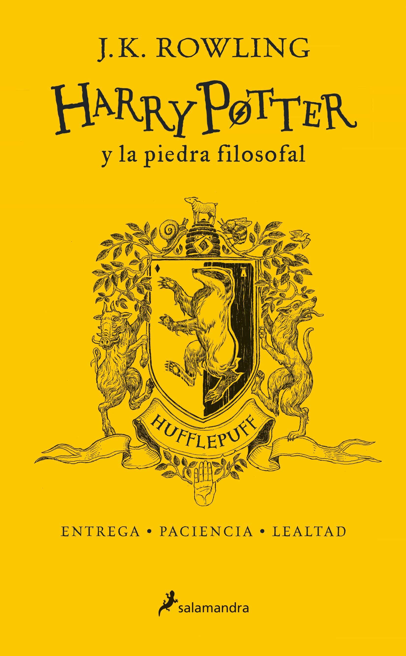 Edicion especila de Harry potter y la piedra filosofal