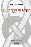 El Notodo De Lacan: Consistencia Lógica, Consecuencias Clinicas por Guy Le Gaufey epub
