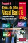 PROGRAMACION DE BASES DE DATOS CON VISUAL BASIC 6 (INCLUYE CD)