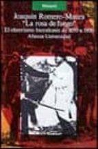 La rosa de fuego: El obrerismo barcelonés de 1899 a 1909 (Alianza Universidad (Au))