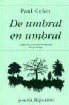DE UMBRAL EN UMBRAL: POEMAS (2ª ED.)
