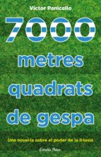 7000 metres quadrats de gespa: Una novel·la sobre el poder de la il·lusió