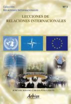 LECCIONES DE RELACIONES INTERNACIONALES (EBOOK)