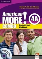 American More!  4 Combo A with Audio CD/CD-ROM
