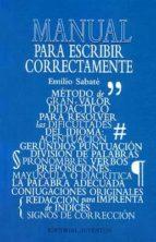 PARA ESCRIBIR CORRECTAMENTE (10ª ED.)