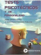 test psicotecnicos y de personalidad: para oposiciones a la admin istracion publica manuel segura ruiz 9788482190907