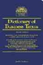 Dictionnary of Business Terms. 3rd Edition (Dictionary of Business Terms)