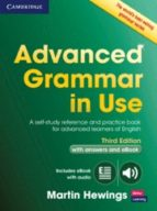 advanced grammar in use book with answers and interactive ebook 9781107539303