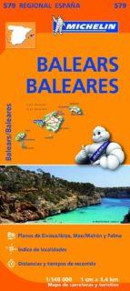 mapa regional balears / baleares 9782067184503