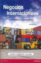 negocios internacionales ambientes y operaciones john d. daniels 9786073221603
