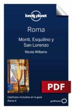 roma 5. monti, esquilino y san lorenzo (ebook)-duncan garwood-nicola williams-9788408198703