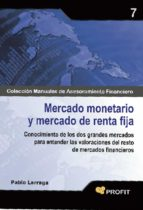 MERCADO MONETARIO Y MERCADO DE RENTA FIJA (EBOOK)
