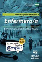 ENFERMERO-A DEL SAS. TEMARIO ESPECÍFICO VOLUMEN 4
