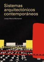 sistemas arquitectonicos contemporaneos-josep maria montaner-9788425221903