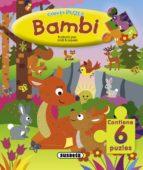 bambi (con 6 puzzles) jordi (il.) busquets 9788430541003