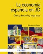 la economia española en 3d: oferta, demanda y largo plazo-fernando collantes-9788436837803