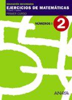 cuaderno 2  números i (1º eso) 9788466759403