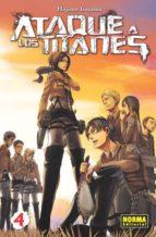 ataque a los titanes 04-hajime isayama-9788467911503