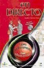 ESPAÑOL EN DIRECTO 1-B. EJERCICIOS ESTRUCTURALES
